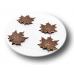 """Форма для шоколада """"Кленовые листья"""""""