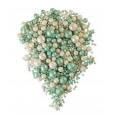 """Воздушный рис """"Микс зеленый, белый"""", 100 гр"""