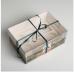 """Коробка на 6 капкейков с окном """"23 февраля"""""""