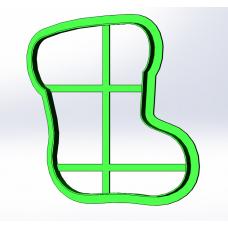 Форма для пряников Сапожок 9,5 см