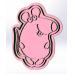 Форма для пряников с оттиском Мышка №2, 10 см