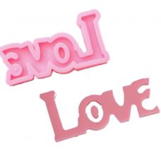 """Силиконовый молд """"LOVE"""", 14,5х7,5 см"""