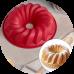 """Силиконовая форма для выпечки """"Немецкий кекс"""", d22,5 см"""