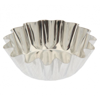 Форма металлическая для кексов, 75 мл