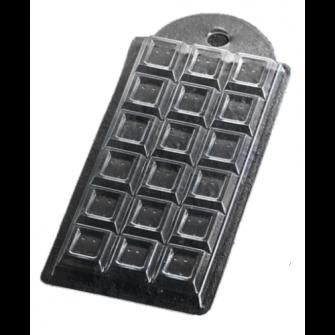 "Форма для шоколада ""Шоколад традиционный"", 15х7х1,5 см"