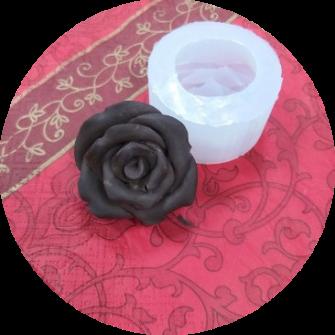 """Силиконовая форма """"Роза №55"""", d4,8 h3 см"""