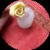 """Силиконовая форма """"Роза №2"""", d3,6 h4,2 см"""