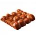 "Форма для шоколада ""Плитка Пузырьки"""