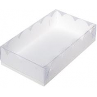 Коробка с прозрачной крышкой 25х15х3,5 см