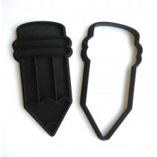 Форма для пряников Карандаш с оттиском 11,4 см