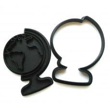 Форма для пряников Глобус с оттиском, 10 см