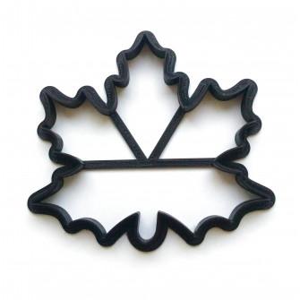 Форма для пряников Лист кленовый, 10,2 см