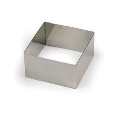 Квадрат нержавеющий L18 h5 см