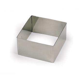 Квадрат нержавеющий L16 h5 см