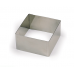 Квадрат нержавеющий L16 h10 см