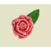 "Насадка ""Роза прямая"" (верх ровный) 19 мм"