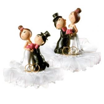 Фигурка для торта Жених и невеста, 10504