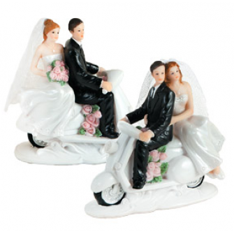 Фигурка для торта Жених и невеста, 10505