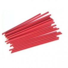 Палочки для кейкпопсов красные 14 см, 100 шт
