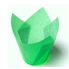 Форма бумажная Тюльпан 50*80 мм (зелен), 200 шт