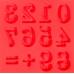 """Силиконовый молд """"Цифры узорные"""", 8х8 см"""