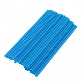 Палочки для кейкпопсов синие 14 см, 100 шт