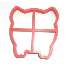 Форма для пряников Свинка №2 10 см