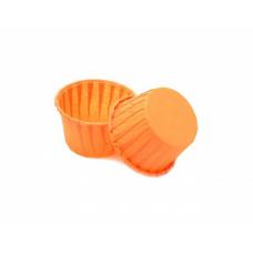 Форма бумажная Маффин, оранж 50*40 мм, 100 шт
