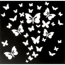 """Трафарет """"Бабочки"""", 15х15 см"""