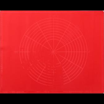 Коврик силиконовый с разметкой 63х42 см