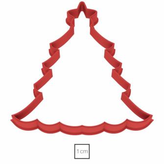 Форма для пряников Кремлевская елочка 9,5 см