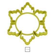 Форма для пряников Снежинка №1 11 см