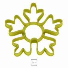 Форма для пряников Снежинка №8, 9 см
