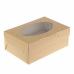 Коробка на 2 капкейка с окном