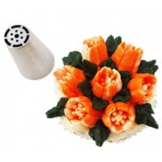 Насадка Тюльпан 6 лепестков 7 тычинок, 1.9 см