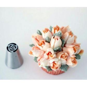Насадка Тюльпан 6 лепестков 3 тычинки, 19мм