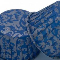 Форма бумажная Маффин, Дамаск синий 50*40 мм, 100 шт