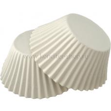 Капсулы круглые, белые 50*35 мм, 100 шт