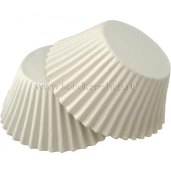 Капсулы круглые, белые 55*35 мм, 100 шт