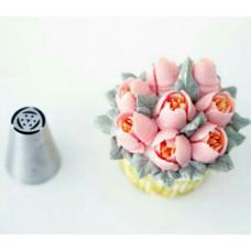 Насадка Тюльпан 6 лепестков 7 тычинок, 25 мм
