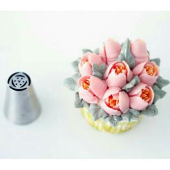 Насадка Тюльпан 6 лепестков 7 тычинок, 19 мм