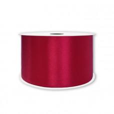 Атласная лента бордовая 2,5 см