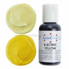 Гелевый краситель ELECTRIC YELLOW, Americolor, 21 гр