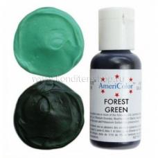 Гелевый краситель FOREST GREEN, Americolor, 21 гр