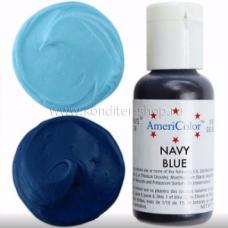 Гелевый краситель NAVY BLUE, Americolor, 21 гр