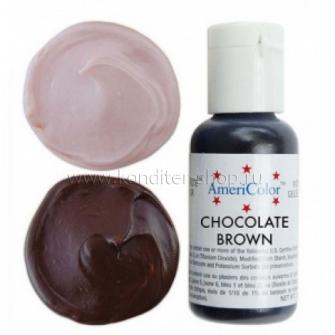 Гелевый краситель CHOCOLATE BROWN, Americolor, 21 гр