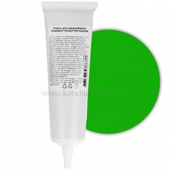Краситель пищевой гелевый Топ продукт Зеленый, 100 гр