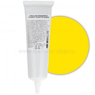 Краситель пищевой гелевый Топ продукт Желтый, 100 гр