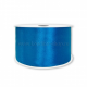 Атласная лента синяя 2,5 см