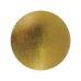 Подложка усиленная (1,5 мм) золото/жемчуг D 200 мм